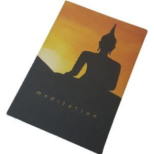 3/$30 Meditation Buddha journal notebook